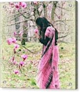 Scent Of Magnolia Acrylic Print