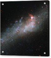Hubbles Hockey Stick Galaxy Acrylic Print