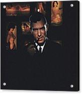 Hugh Hefner Acrylic Print