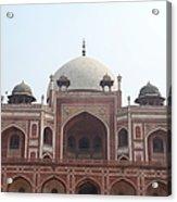 Humayuns Tomb, Delhi Acrylic Print