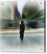 I Walk Alone Acrylic Print