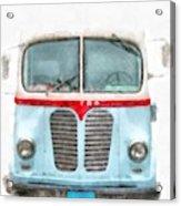 Ice Cream Food Truck Metro Van Acrylic Print