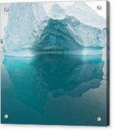 Iceberg And Reflections, Antarctic Acrylic Print