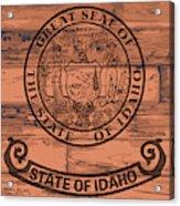 Idaho State Flag Brand Acrylic Print