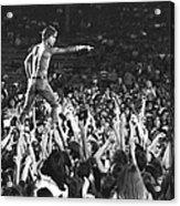 Iggy Pop Live Acrylic Print