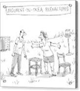 Ikea Reenactors Acrylic Print