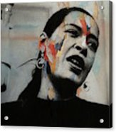 I'll Be Seeing You - Billie Holiday  Acrylic Print