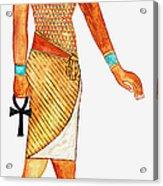 Illustration Of Ancient Egyptian God Of Acrylic Print