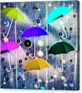 Imagination Raining Wild Acrylic Print