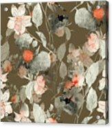 Imprint Fantastic Paint Bouquet. Hand Acrylic Print