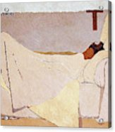 In Bed - Digital Remastered Edition Acrylic Print