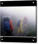 In The Clouds Poster Acrylic Print