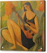 Incidental Music Acrylic Print