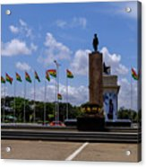 Independence Square Statue Acrylic Print