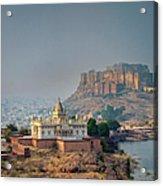 India, Jodhpure, Mehrangarh Historic Acrylic Print
