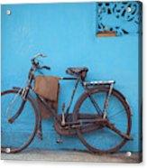 Indian Bike Acrylic Print