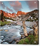 Indian Peaks Wilderness Lake Isabelle Acrylic Print