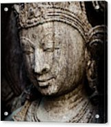 Indian Temple Goddess Acrylic Print