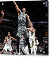 Indiana Pacers V Brooklyn Nets Acrylic Print