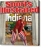 Indiana University Cody Zeller, 2012-13 College Basketball Sports Illustrated Cover Acrylic Print