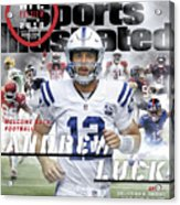 Indianapolis Colts Andrew Luck, 2018 Nfl Football Preview Sports Illustrated Cover Acrylic Print