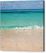 Indonesia, Waves Rolling In From Indian Acrylic Print