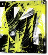 Industrial Abstract Painting II Acrylic Print