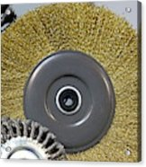 Industrial Wire Brush Attachment Acrylic Print