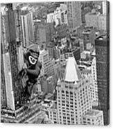 Inflatable King Kong On The Empire Acrylic Print