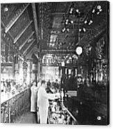 Inside Hannah And Hoggs Saloon Acrylic Print