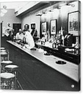 Inside The Cedar Street Tavern Acrylic Print