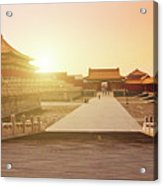 Inside The Forbidden City Acrylic Print