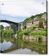 Ironbridge In Telford Acrylic Print
