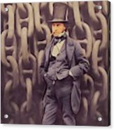 Isambard Kingdom Brunel, Genius Acrylic Print