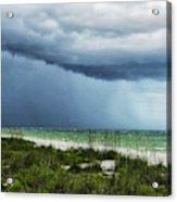 Island Rain Acrylic Print
