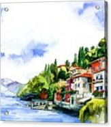 Italian Summer Vacation Acrylic Print