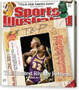 Its A Classic, Lakers Vs. Celtics The Greatest Rivalry Sports Illustrated Cover Acrylic Print