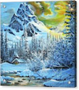It's Out In The Winter Acrylic Print