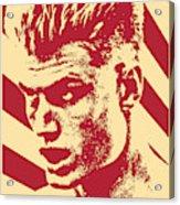 Ivan Drago Retro Propaganda Acrylic Print