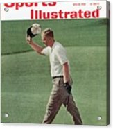 Jack Nicklaus, 1962 Us Open Sports Illustrated Cover Acrylic Print
