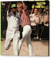 Jack Nicklaus, 1972 Masters Sports Illustrated Cover Acrylic Print