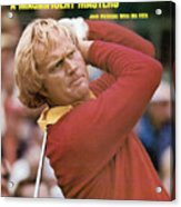 Jack Nicklaus, 1975 Masters Sports Illustrated Cover Acrylic Print