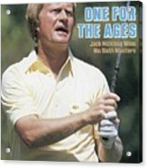 Jack Nicklaus, 1986 Masters Sports Illustrated Cover Acrylic Print
