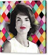Jackie Geometric Acrylic Print
