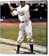 Jackie Robinson Of The Brooklyn Dodgers Acrylic Print