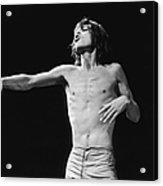 Jagger Gestures Acrylic Print