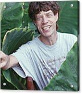 Jagger On Holiday Acrylic Print