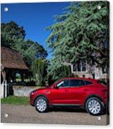Jaguar E-pace Acrylic Print