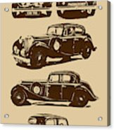 Jaguar Mark Iv Ss 2.5 Saloon Acrylic Print