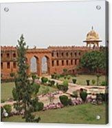 Jaigarh Fort, Amer, Jaipur, Rajasthan Acrylic Print